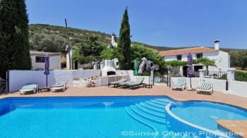 Archidona beautiful large detached 6 bedroom country property with pool