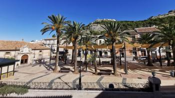 Archidona, Spacious 1st floor apartment in the centre of the town, perfectly situated with great view over the square.