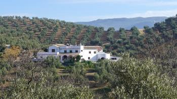Iznajar, Spacious 5 bed / 5 bath country house with swimming pool and fantastic views